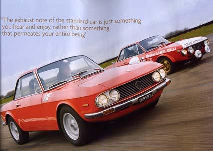 Auto-Fachzeitschrift: Lancia Fulvia