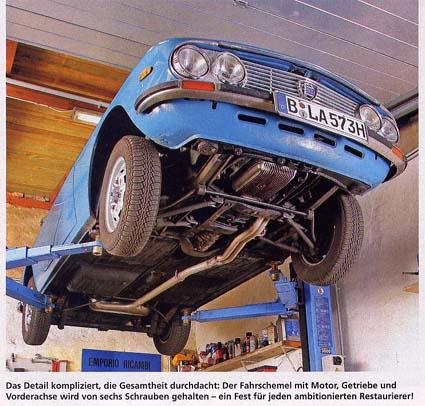 Auto-Fachzeitschrift: Lancia Fulvia Coupè