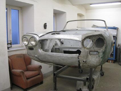 Lancia Flaminia Restaurierung: Karosserie