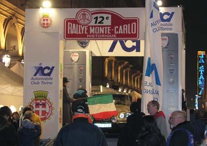 Rallye Monte Carlo Historique: Start in Turin zum großen Abenteuer