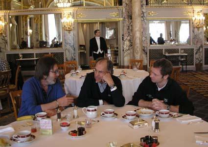 Hotel de Paris in Monte Carlo - angemessene Umgebung für Pechvögel