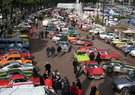 Rallye Monte Carlo Historique: ...und wo sind die Wagen unserer Helden?