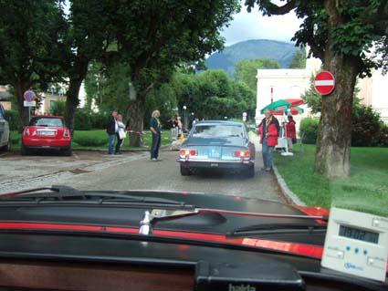 Die Castrol Sportwagen Alpentrophy 2009: Letzte Zeitkontrolle, die auf die 1/100-Sekunde genau zu passieren war