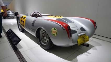 Porsche Museum: Carrera Panamericana 1954 - Hans Herrmanns 550er