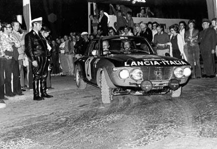 Harry Källström: Start Österr. Alpenfahrt 1972 in Baden bei Wien (Foto TMW Wien)