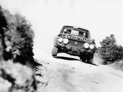 Österr. Alpenfahrt 1972 - Harry Källström/Haggbom angemessen unterwegs (Foto HP Kumpa)