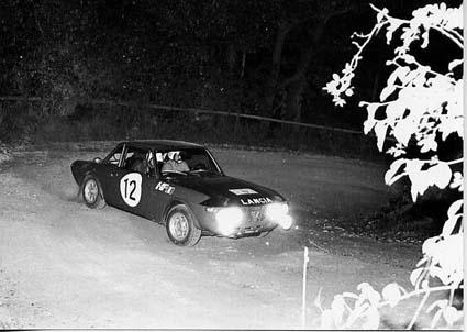 Harry Källström: 1000 Minuten Rallye 1970 - SP Jauerling - 2. Platz hinter einem Porsche 911 S
