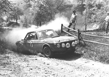Harry Källström: Voller Einsatz bei der Österr. Alpenfahrt 1971 - Ausfall wegen Motorschadens