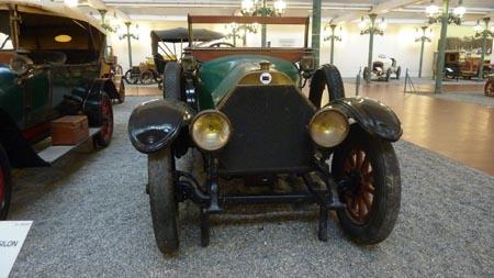 Automobile Museum Mulhouse: Lancia Epsilon aus dem Jahr 1912