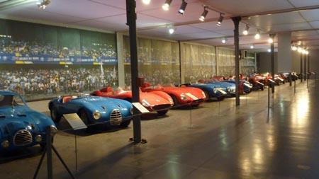 Automobile Museum Mulhouse: Rennsportwagen aus den 1950-/1960- und 1970er-Jahren
