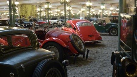 Automobile Museum Mulhouse: Automobiles Biotop?