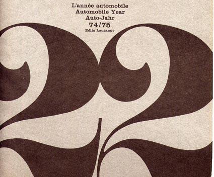 Lancia-Werbung: L'année automobile