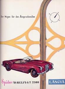 Lancia-Werbung: 1955/56