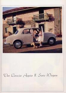 Lancia-Werbung: 1956/57