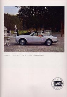 Lancia-Werbung: 1957/58