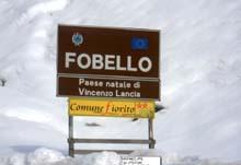 Automotoretro: Fobello Ortstafel
