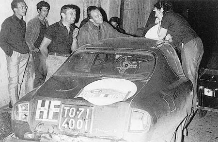Die Trautmanns beim Coupe des Alpes 1965