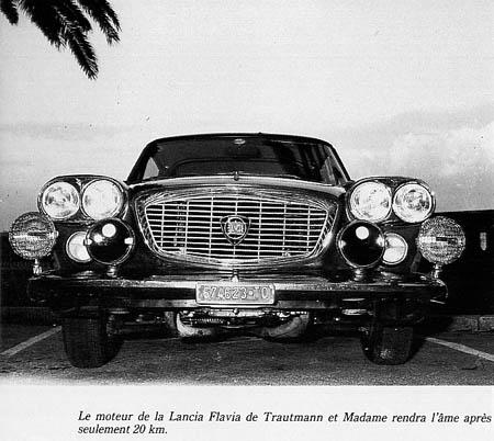 Das Ende der Flavia-Geschichte - Tour de Corse 1966 (M. Louche, Tour de Corse)