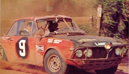 Lancia-Söldner: Rauno Aaltonen 1969 - der erste Lancia im Ziel der Safari