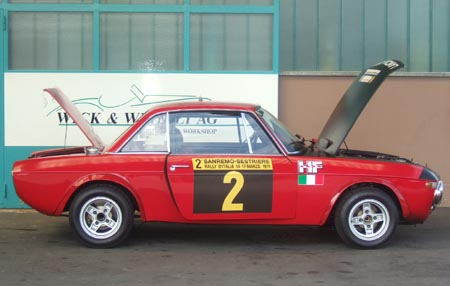 Lancia Fulvia: Die rechte Tür lässt sich schließen, der Fotograf war nur unaufmerksam