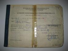Originaldokumente der Zulassung auf Lancia vom Februar 1971 – wenige Wochen vor dem ersten Start bei Rallye San Remo 1971 mit Munari/Mannucci