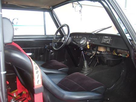Lancia Fulvia: Bltzsauber, keine Tünche, absolut funktionsgerecht
