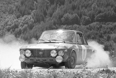 Lancia Fulvia: S. Munari/M. Mannucci - Semperit-Rallye 1971 - SP Kaiserau