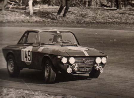 Lancia Fulvia: René Trautmann - Lyon-Charbonnieres 1968