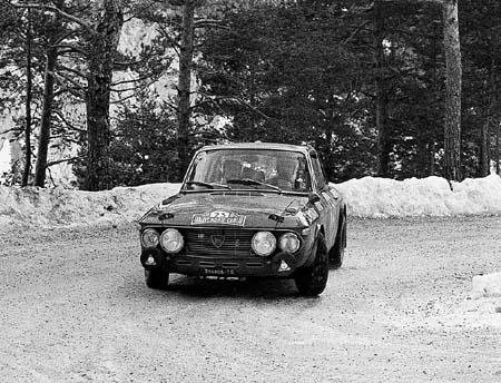 Lancia Fulvia: S. Munari/A. Bernacchini - Monte Carlo 1971 (Foto S. Munari, Una vita di traverso, 2007)