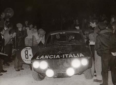 Lancia Fulvia: A. Ballestrieri/A. Bernacchini - Rallye Elba 1972
