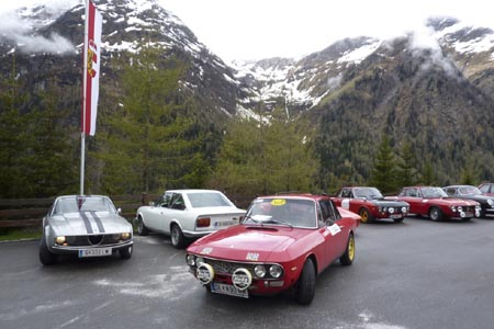 Scuderia Autostoriche Salisburgo: Felbertauern im Mai 2010 - Frühling in den Alpen