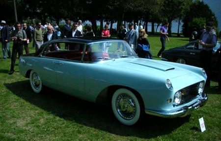 Concorso d'Eleganza Villa d'Este: Aurelia B56, Pininfarina, 1955, aus Italien