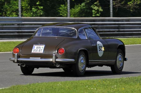 Nach Porsche, Ferrari, BMW 328 und und auf dem richtigen Weg: J. Panis