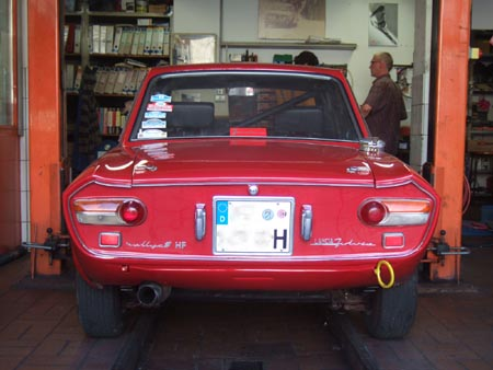 Lancia Fulvia 1,6 HF