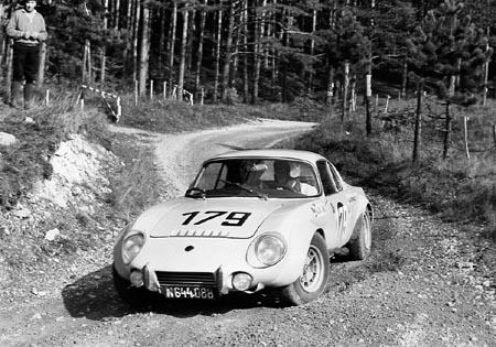 Matra Jet 6: Badner Herbstwertungsfahrt 1968 - SP Rohrbach. Klassensieg und 4. Gesamt