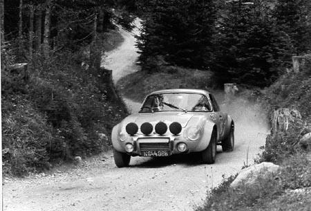 Matra Jet 6: Semperit Rallye 1969 - SP Windische Höhe.  2. Platz Klasse GT bis 1.300 ccm