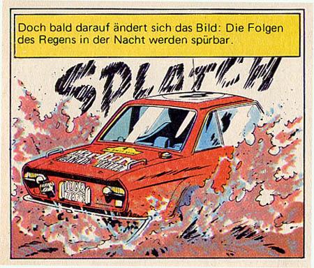 Der Comic-Held Michel Vaillant: Und die Wiedergabe im Band 27 ...