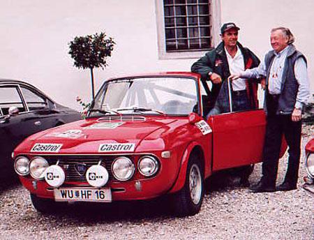 Lancia-Nostalgie: Sandro Munari und Rauno Aaltonen in der Kartause Gaming