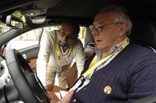 """""""Neuland"""" für Fahrer und Beifahrer, fachkundige Erklärung in Italienisch"""