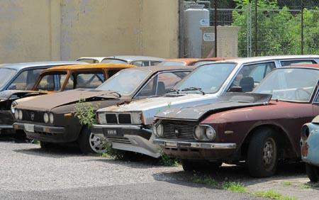 Lancia-Rost: Fast die ganze (Farb)Palette stand zur Verfügung