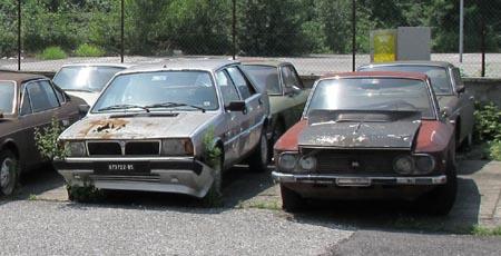 Lancia-Rost: Rot gewinnt eindeutig gegen Silber, wenn es um Rost geht