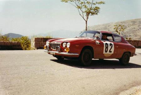 Italienische Nummerntafeln: Coupe des Alpes 1965 - Die Nummer 82: R. Trautmann/C. Trautmann