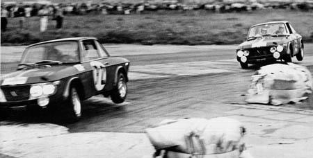 Italienische Nummerntafeln: Polen-Rallye 1967 - Cella/Lombardini vor Andersson/Davenport [Autojahr 1967/68]