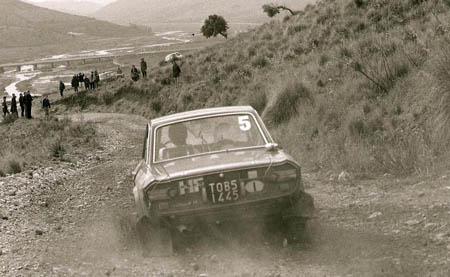 Italienische Nummerntafeln: Endlich gut zu lesen: Rallye Sizilien 1972 - Ballestrieri/Bernacchini