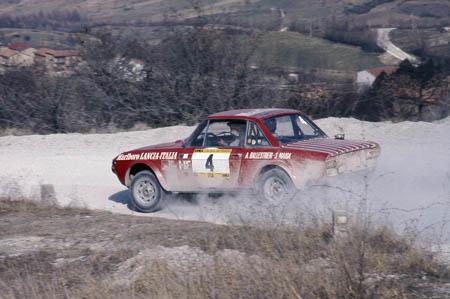 Italienische Nummerntafeln: Sicher 1973: Rally della Luna - Ballestrieri/Maiga - aber welche Fulvia?