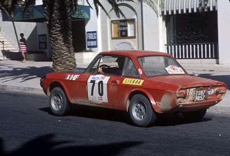 Italienische Nummerntafeln: Leichte Aufgabe: TAP Rallye 1970 - Munari/Mannucci - 2. Platz