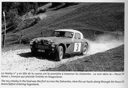 Italienische Nummerntafeln: Hervé Chevalier, Les Healey du Marathon, Seite 158