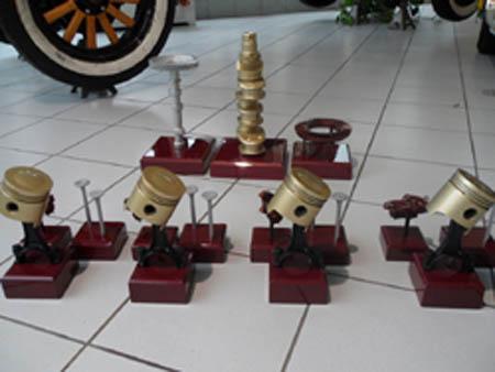 Voralpen Classic 2011: (Geschmacklose) Pokale hat ja schon jeder zu Hause, doch diese Preise ...