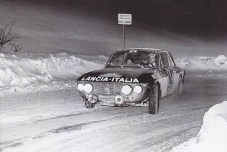 """Mario Mannucci: """"Der"""" Sieg für Lancia, Munari und Mannucci: Rallye Monte Carlo 1972"""