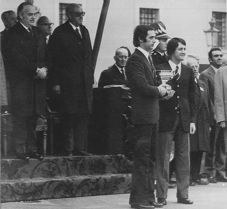Mario Mannucci: Das erste Mal bei Fürst Renier 1972, 1975 das zweite Mal.